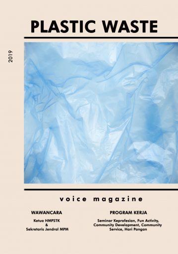 Voice #1 2019/2020 – Plastic Waste